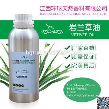 Plantenextract Pure Natural parfum Vetiver etherische olie Cas: 8016-96-4