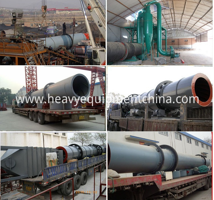 Sawdust Rotary Drum Dryer For Sale