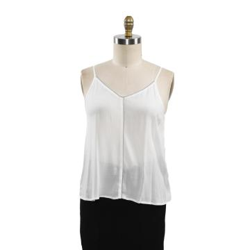 New Women Solid Chiffon Camis