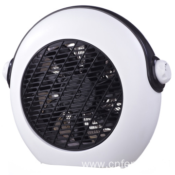 Small portable fan heater