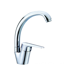 Brass kitchen faucet tap swivel for small sink