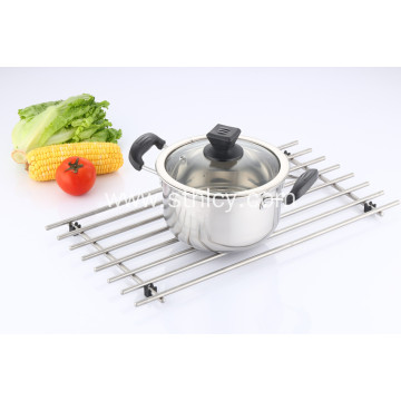 Classic Stainless Steel Sauce Pot with Cover