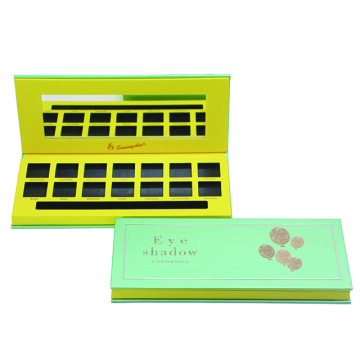 Cardboard eyeshadow palette custom make up palette