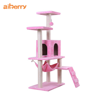 Aiberry Cat Scratch Climbing Tower Furniture Condo