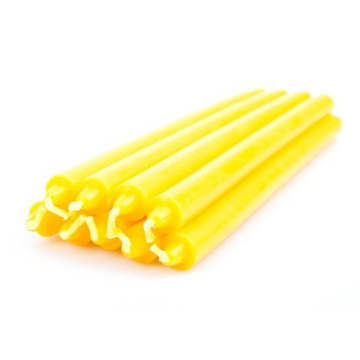 Fluted Yellow Citronella Oil Candle