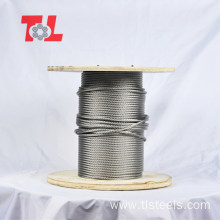 6X19+FC 6X7+FC 6X12+FC Stainless Steel Wire Rope