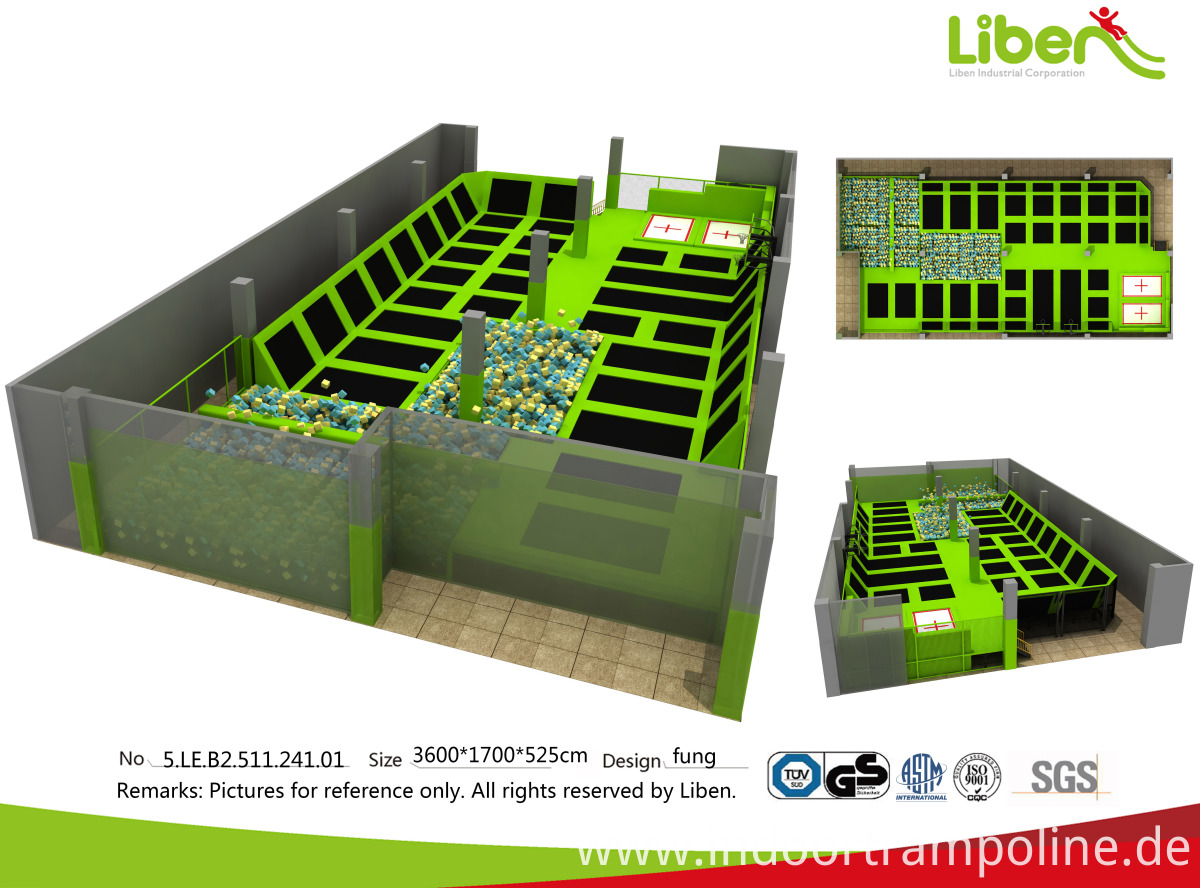 trampoline park equipment for sale