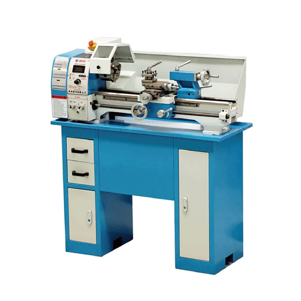 Variable speed lathe Distance between centers 400/550/750