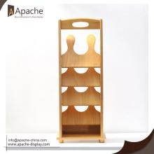Wooden Shoes Display Stand Home Furniture Storage