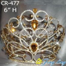 Rhinestone Cheap Pageant Crowns And Tiaras