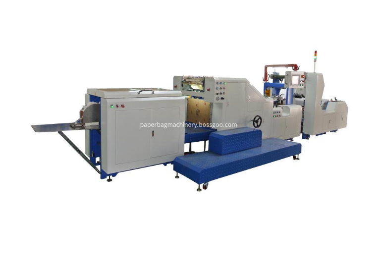 Paper Bag Making Automatic Machine