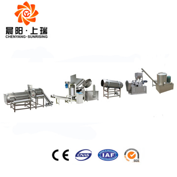 Fried kurkure making extruder machine