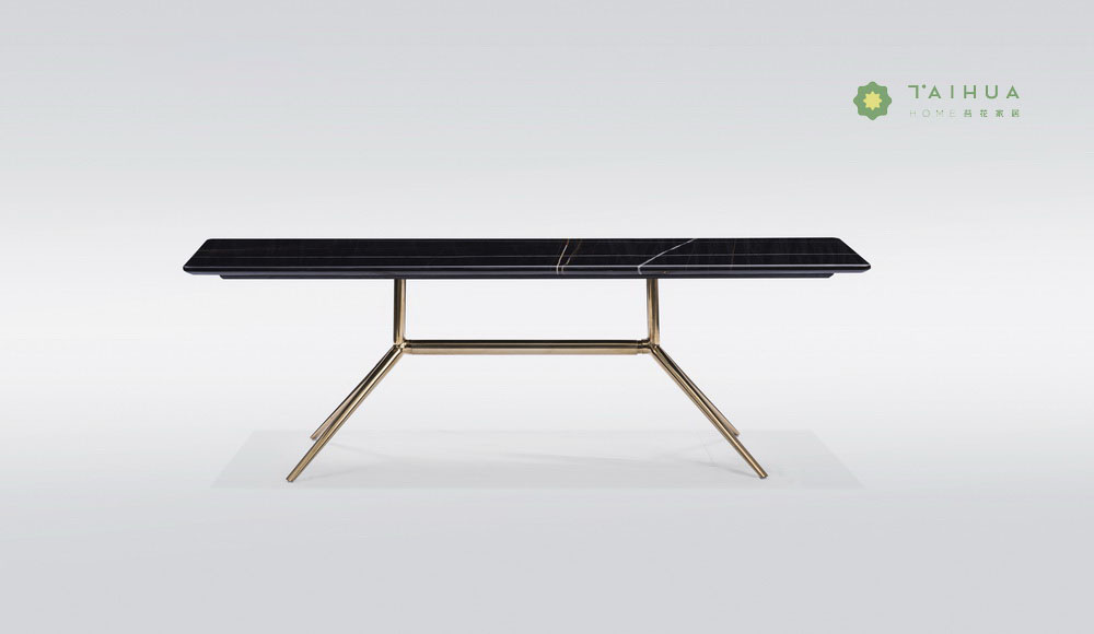 Rectangular Marble Top Coffee Table