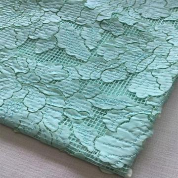 Laser Leather Embroidery Fabric for Ladies Garment