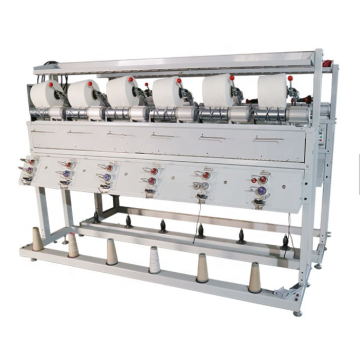 Package yarn winding machine
