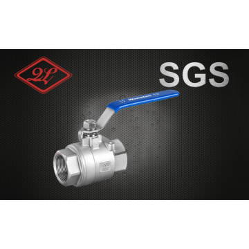 Sanitary Threaded 2PCS Ball Valve with Lock