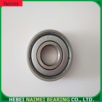 Sealed electric motor ball bearings 6201ZZ