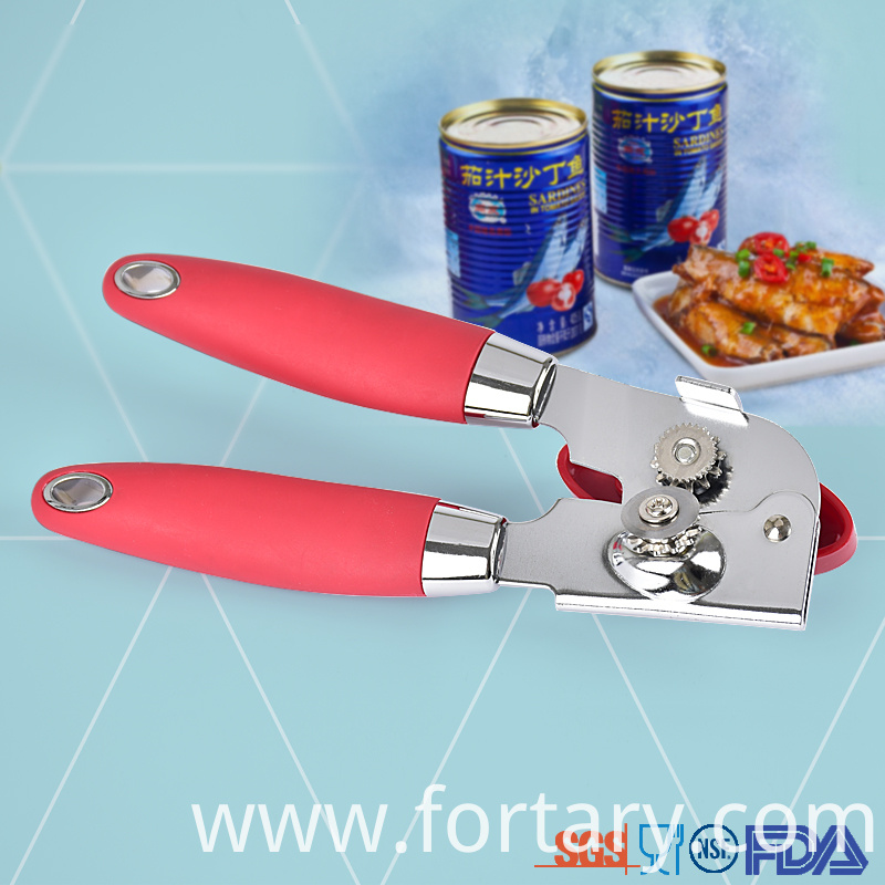 Non Slip handle Can Opener