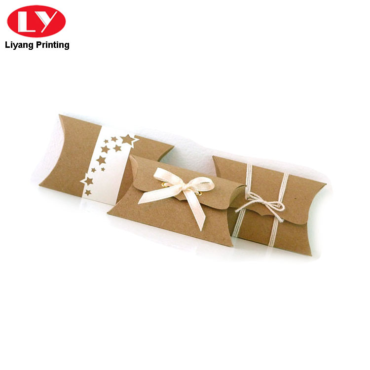 Pillow Box Ribbon Close