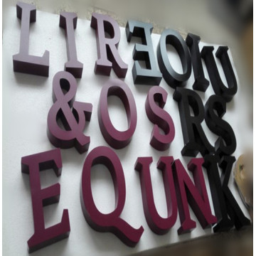 Wholesale Metal Letters Raised or Cutout
