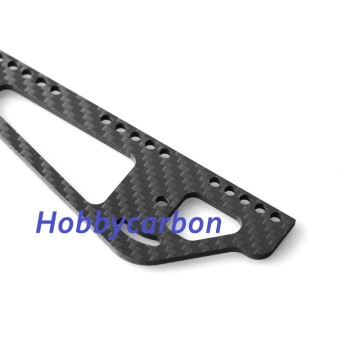 Carbon fiber license plate frame 4 hole
