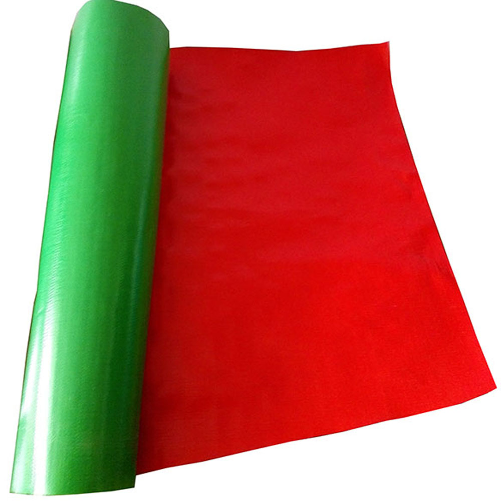 200gsm Red PE Tarpaulin Roll
