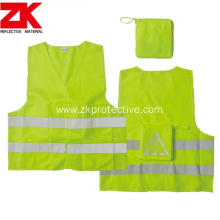 Hi-viz multi-pockets reflective garment
