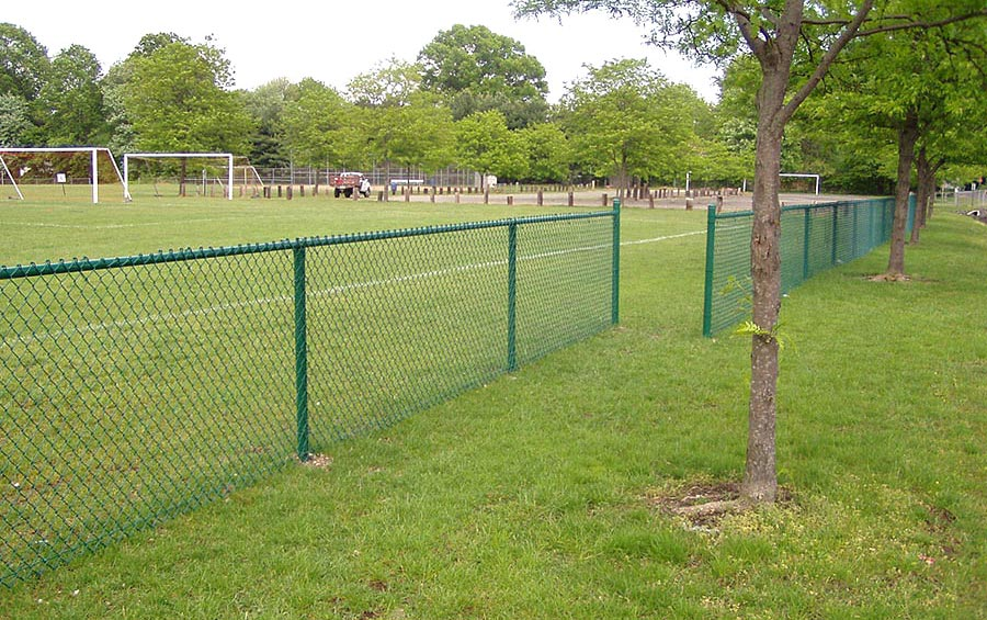 Galvanized chainlink fence with factory direct price