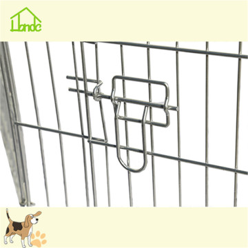 Hot metal folding wire mesh pet playpen