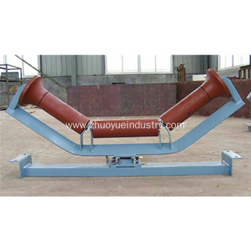 Belt Conveyor Components Friction Self-aligning Idler