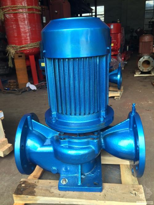 ISGB type explosion-proof pipeline booster pump vertical pipeline hot water pump hot water pipeline booster pump 4