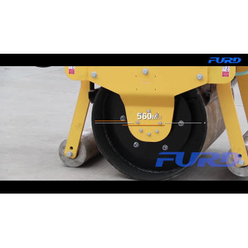 500 kg Hand Held Small Road Roller Compactor FYL-700 500 kg Hand Held Small Road Roller Compactor FYL-700