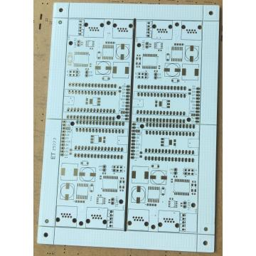 2 layer 1.6mm white solder PCB