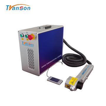 Rust Removal Fiber Laser Cleaning Machine 50W 100W