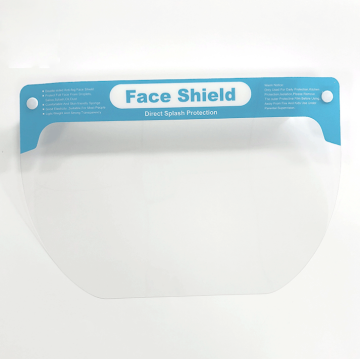 Transparent Safety Protective Face Shield Mask for hospital