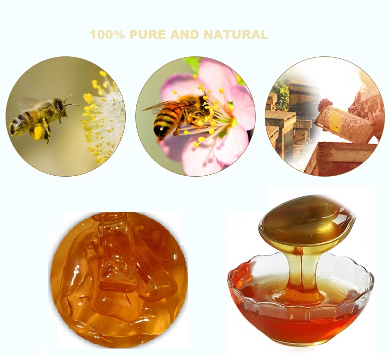 wholesale bulk packaging natural date flower honey