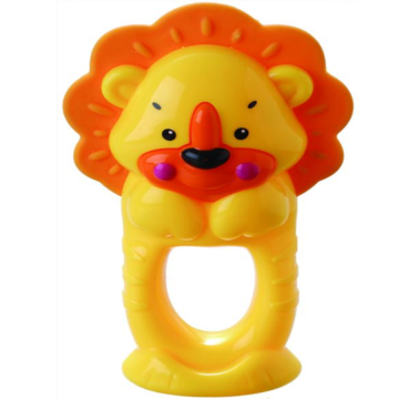 Lion shape baby bell toy