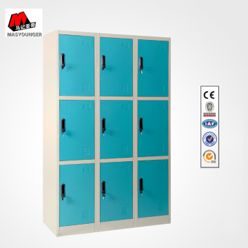 9 Blue Doors Metal Lockers