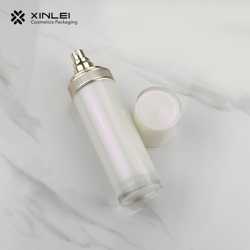 100 ml pump cosmetics cream lotion plastic bottle