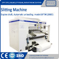Standard duplex center shaft slitter rewinder machine