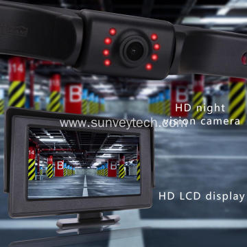 4.3Inch Car Monitor and Camera Rear View Backup Camera System