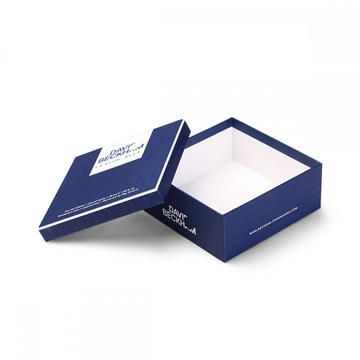 Fancy Cosmetic Skin Care Paper Packaging Gift Box