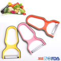 kitchen plastic tomato peeler with stainless steel blade