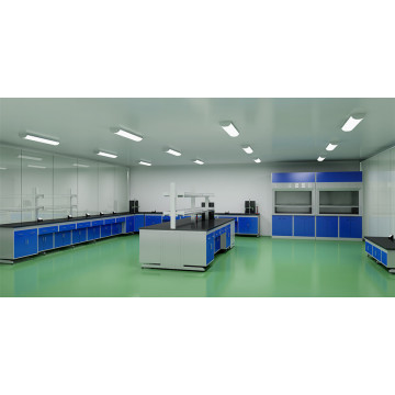 Concrete laboratory floor epoxy coating