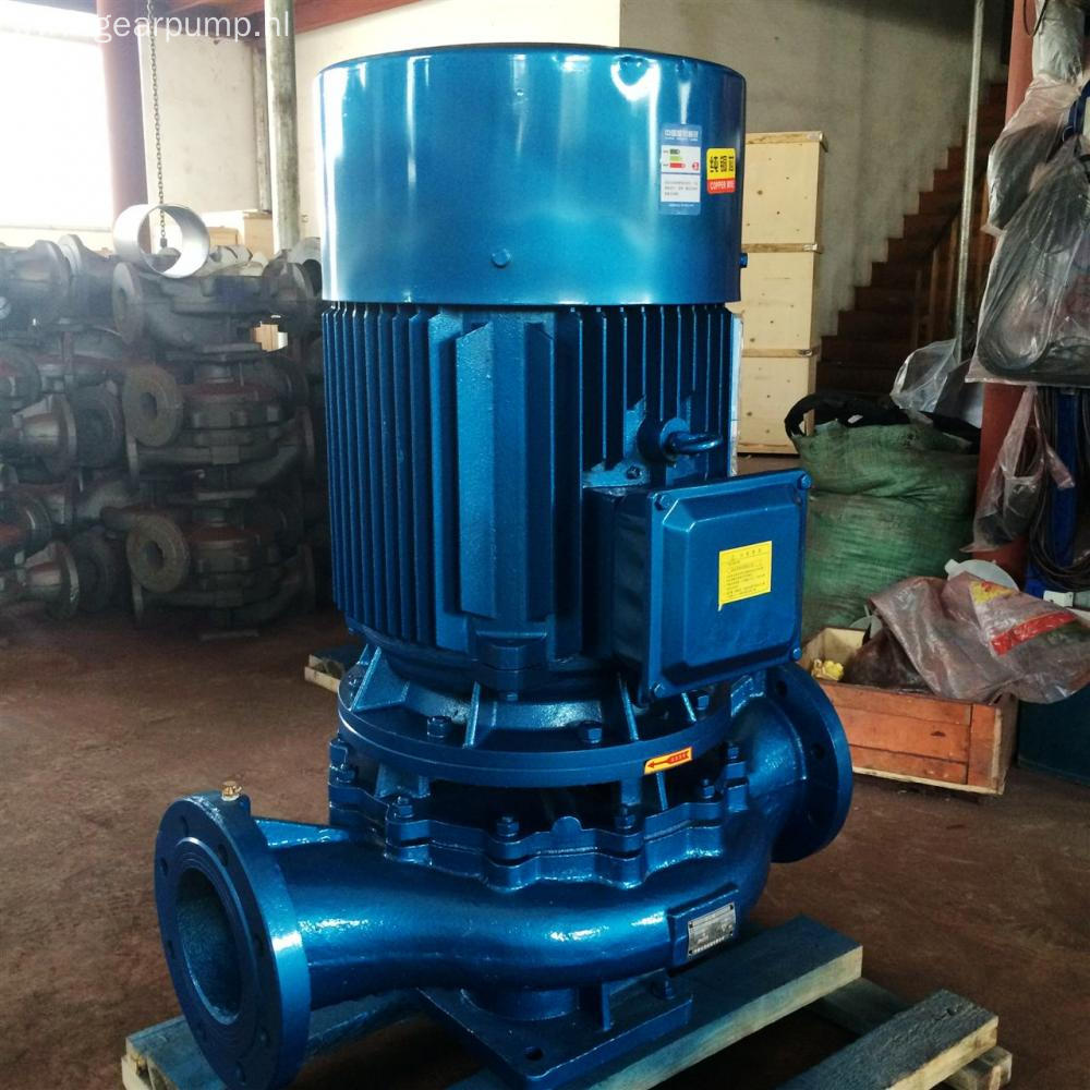 Electric powered vertical turbine clean water pump