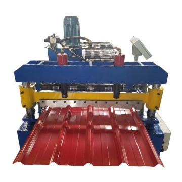 Trapezoidal IBR Metal Sheet Roll Forming Machine Price