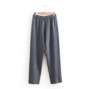 Factory Custom Knitted Straight Leg Pants