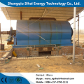Waste Tire Pyrolysis Plant with 15.5KW Power