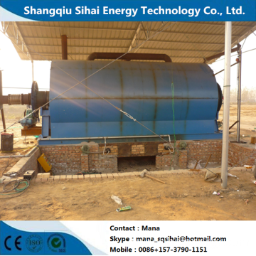 Circulating Waste Rubber to Fuel Oil Pyrolysis Machine
