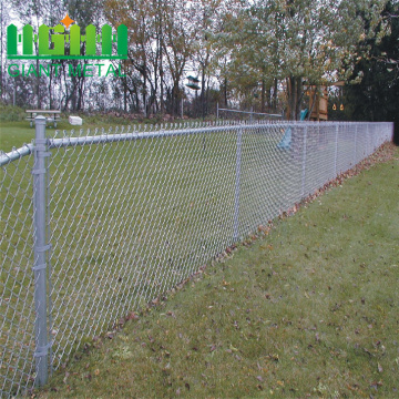 Galvanized chain link diamond mesh fence for sale